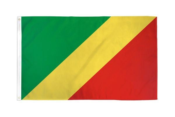 Congo Republic Flag 3x5ft