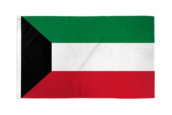 Kuwait Flag 3x5ft