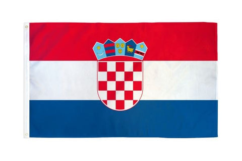 Croatia Flag 3x5ft