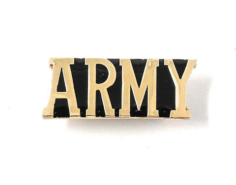 Army Letter Bar Collectable Lapel Pin