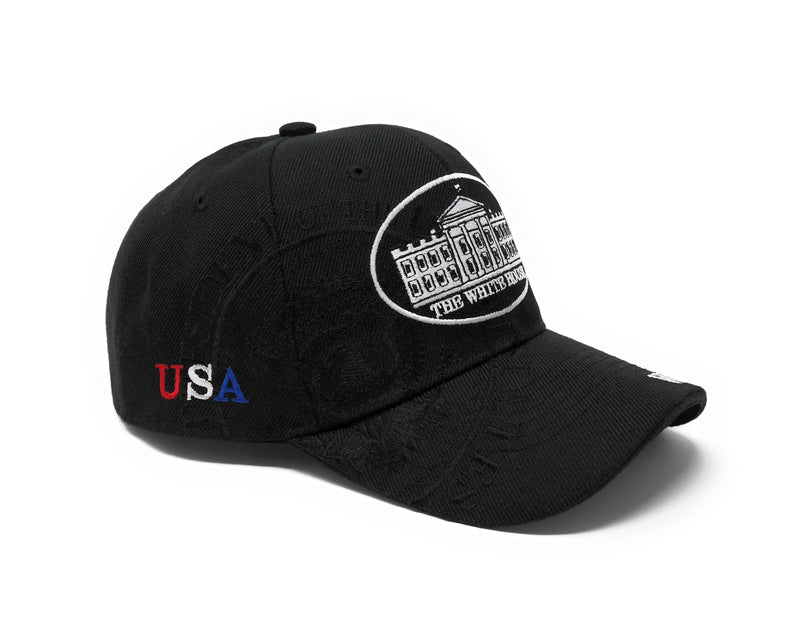 White House Washington DC Cap (Black)