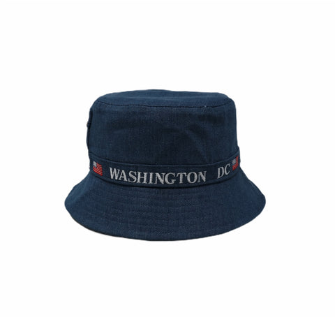 Washington DC Bucket hat (Denim)
