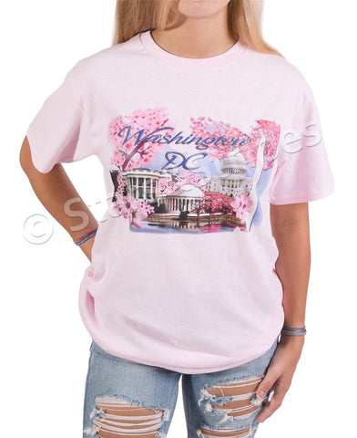 Cherry Blossom Tee Shirt (light pink)