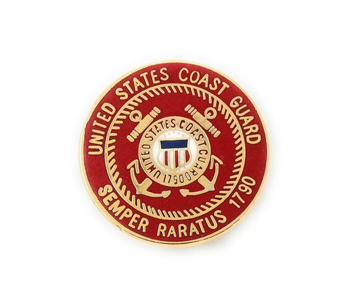 US Coast Guard Seal Collectable Lapel Pin