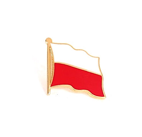 Poland Flag Lapel Pin