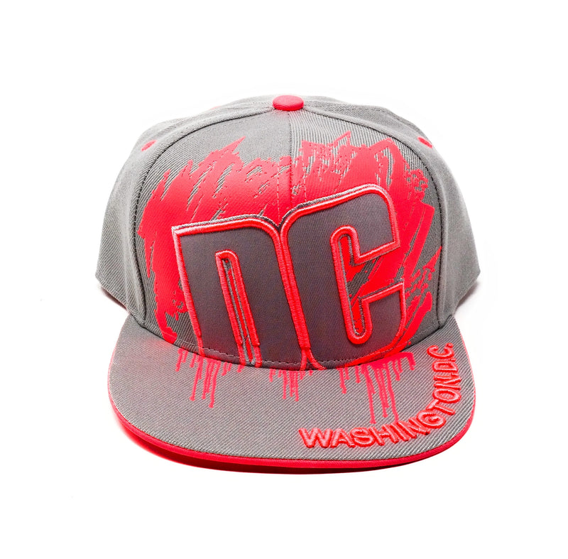 Washington DC Snapback Cap Neon 4 colors