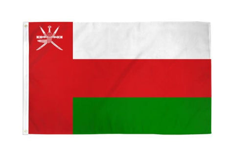 Oman Flag 3x5ft
