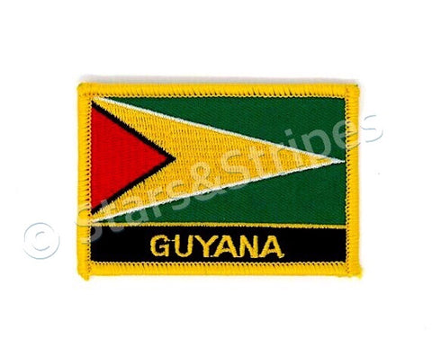 Guyana Flag Embroidered Patch