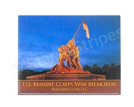 US Marine Corps Memorial Fridge Magnet