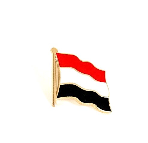 Yemen Flag Lapel Pin