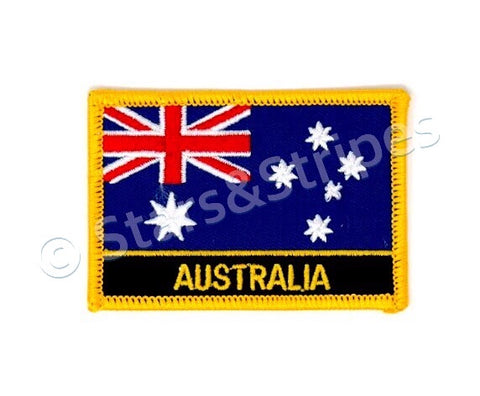Australia Flag Embroidered Patch