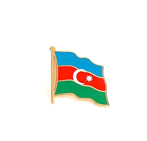 Azerbaijan Flag Lapel Pin