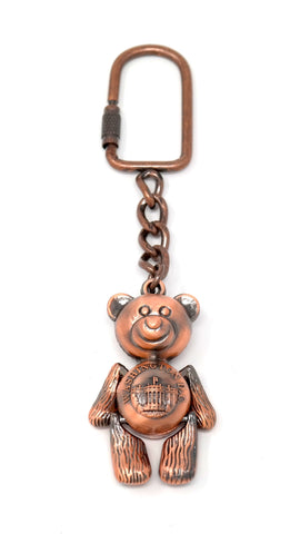 Teddy Bear Washington DC Keychain