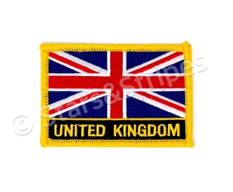 United Kingdom Flag Embroidered Patch
