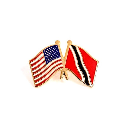 USA/ Trinidad and Tobago Flag Lapel Pin