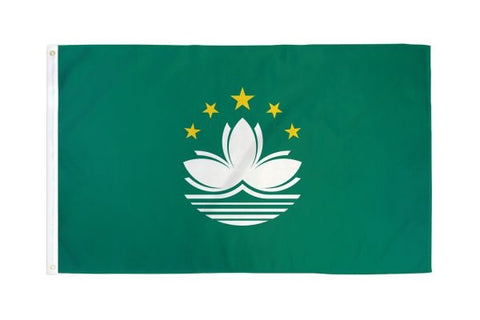 Macau Flag 3x5ft