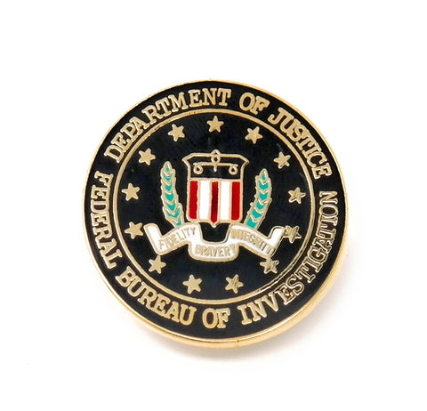 FBI Lapel Pin