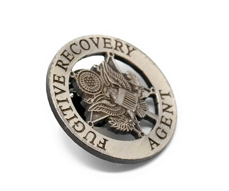 Fugitive Recovery Agent Lapel Pin