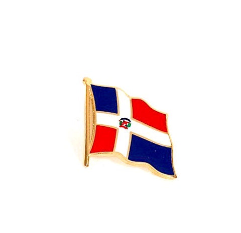 Domenican Republic Flag Lapel Pin