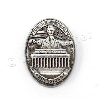 Lincoln Memorial Washington DC Lapel Pin