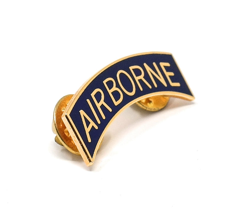 Airborne Letter Bar Collectable Lapel Pin
