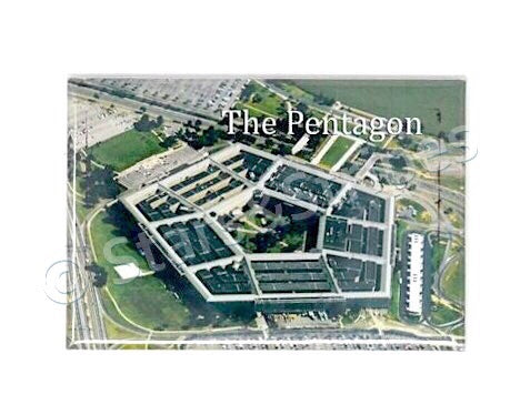 The Pentagon Fridge Magnet