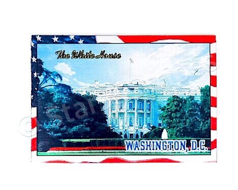 The White House Fridge Magnet
