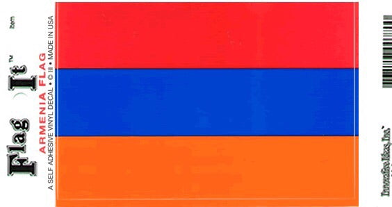 Armenia Flag Decal Sticker