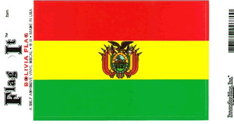 Bolivia Flag Decal Sticker