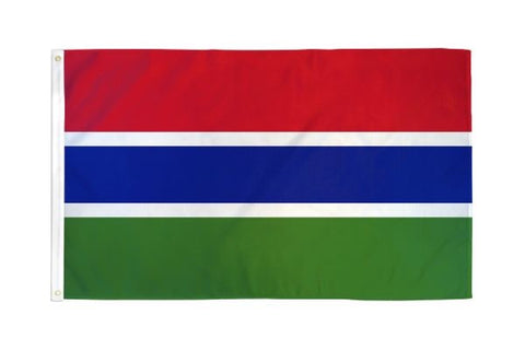 Gambia Flag 3x5ft