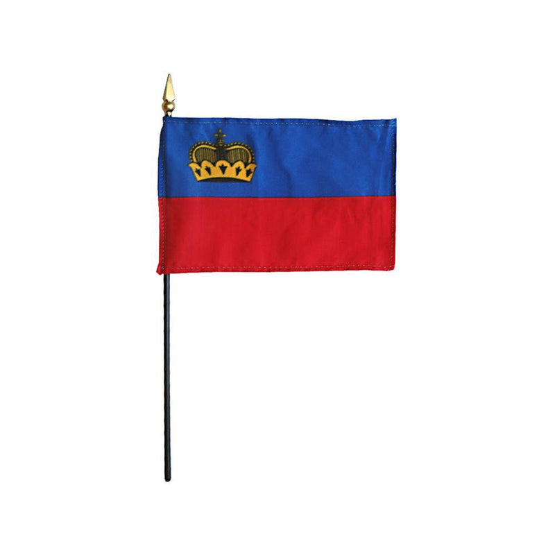 Liechtenstein Stick Flag