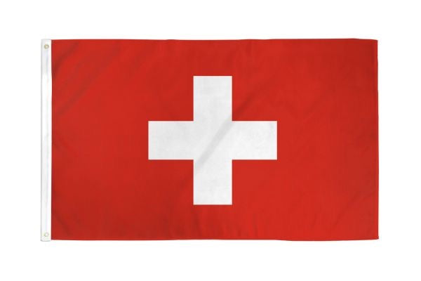 Switzerland Flag 3x5ft