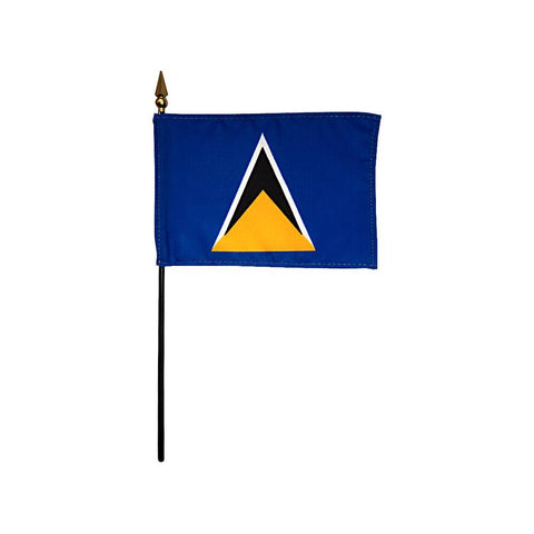 Saint Lucia Stick Flag