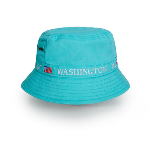 Washington DC Bucket hat (teal)