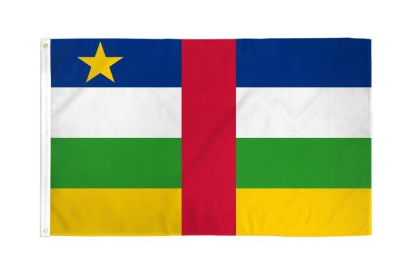 Central African Republic Flag 3x5ft