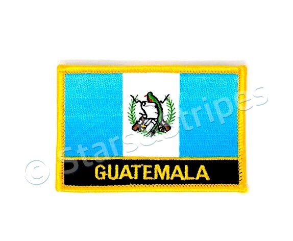 Guatemala Flag Embroidered Patch