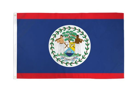 Belize Flag 3x5ft