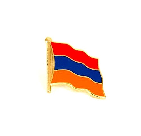 Armenia Flag Lapel Pin