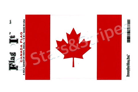 Canada Flag Decal Sticker