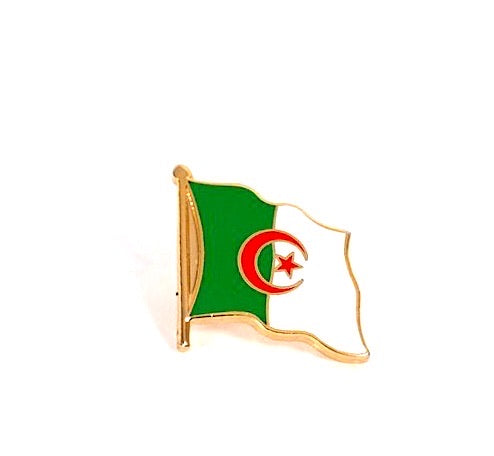 Algeria Flag Lapel Pin