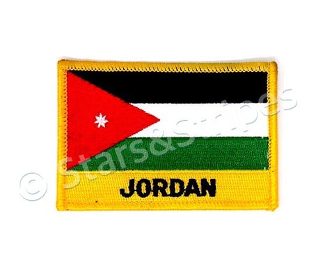 Jordan Flag Embroidered Patch