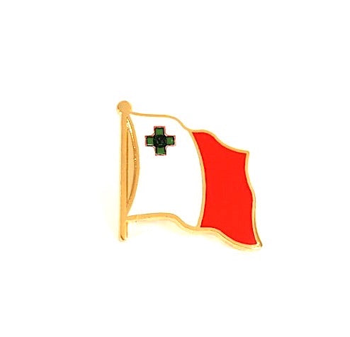 Malta Flag Lapel Pin