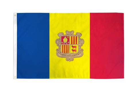 Andorra Flag 3x5ft