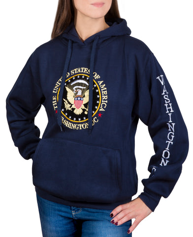 Presidential Seal Embroidered Sweatshirt