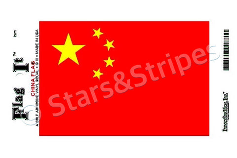 China Flag Decal Sticker