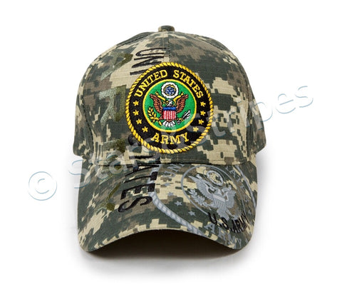 Camouflage US Army Cap