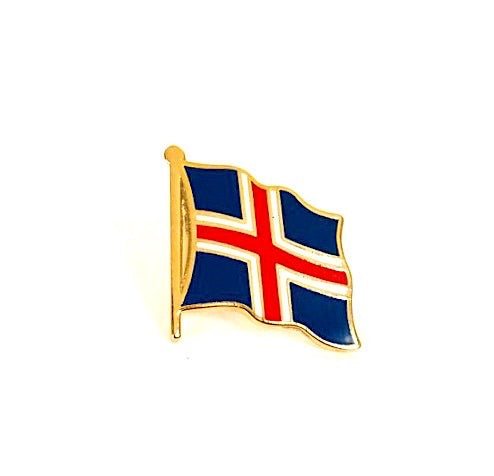 Iceland Flag Lapel Pin