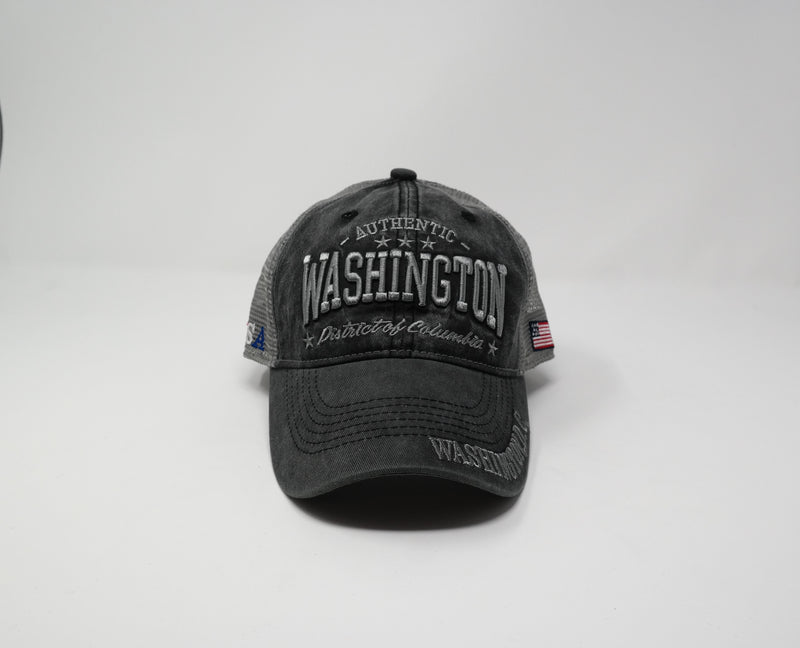 Washington DC Cap Mesh back Baseball Hat Cap