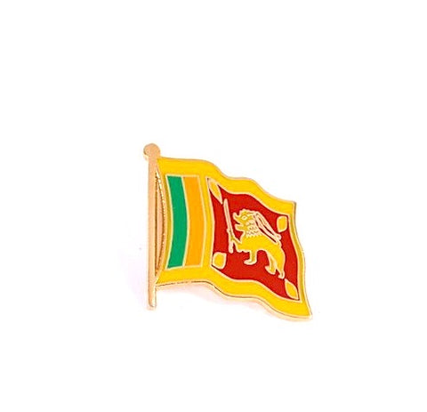 Sri Lanka Flag Lapel Pin
