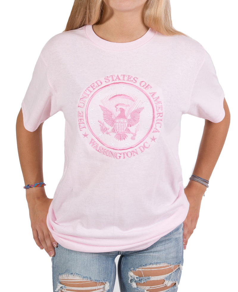 Presidential Seal Embroidered Unisex T-shirt 3 colors